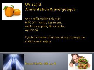 Objectifs de l'UV