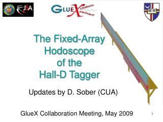 The Fixed-Array  Hodoscope  of the  Hall-D Tagger