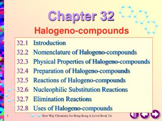 Halogeno-compounds