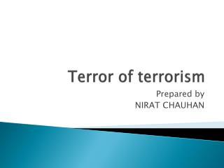 Terror of terrorism