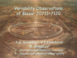 Variability Observations of Blazar J0721+7120