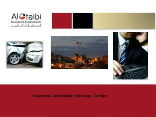 Insurance Consultation Services - Jordan
