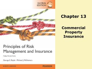 Chapter 13 Commercial  Property  Insurance