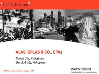 ALAS, OPLAS & CO., CPAs