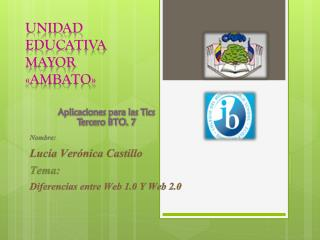 Unidad educativa mayor «AMBATO»