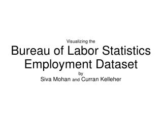 Visualizing the Bureau of Labor Statistics Employment Dataset by Siva Mohan  and  Curran Kelleher