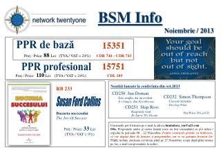 BSM Info