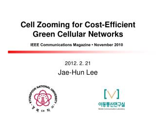 Cell Zooming for Cost-Efficient Green Cellular Networks