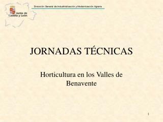 JORNADAS TÉCNICAS