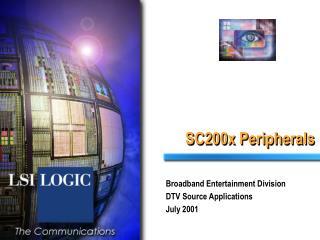 SC200x Peripherals