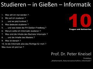 Studieren – in Gießen – Informatik
