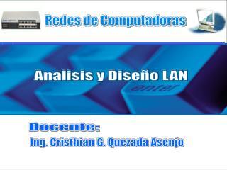 Analisis y Diseño LAN
