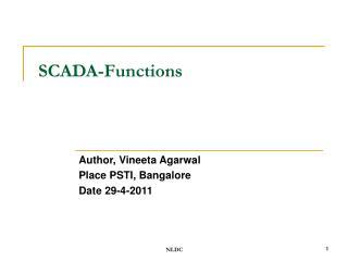 SCADA-Functions