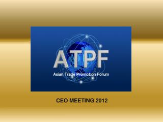 CEO MEETING 2012