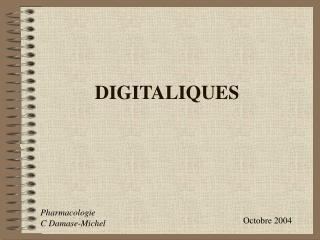 DIGITALIQUES