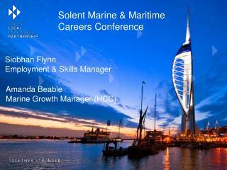 Siobhan Flynn Employment & Skills Manager