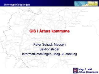 GIS i Århus kommune