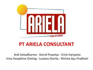 PT  ARIELA  CON SULTANT