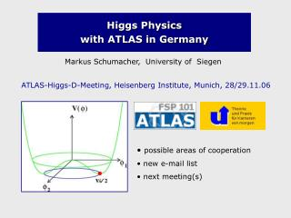 Higgs Physics  with ATLAS in Germany