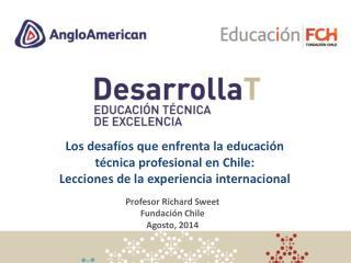 Profesor  Richard Sweet Fundación  Chile A gosto , 2014