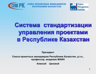 Система  стандартизации управления проектами  в Республике Казахстан