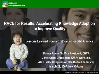 RACE for Results: Accelerating Knowledge Adoption to Improve Quality