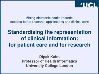 Mining electronic health records:  towards better research applications and clinical care