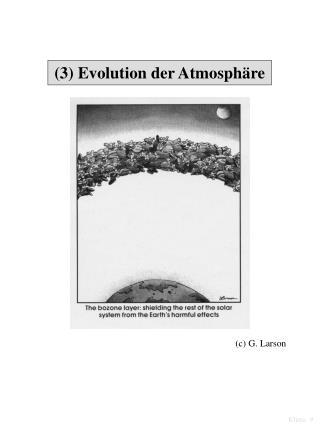 (3) Evolution der Atmosphäre