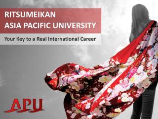 Ritsumeikan Asia Pacific University
