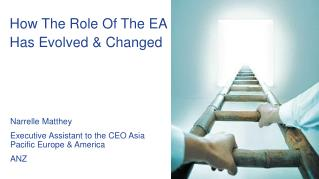 How The Role Of The EA Has Evolved & Changed