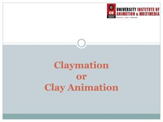 Claymation or Clay Animation