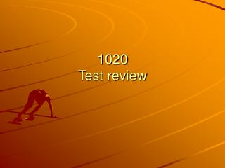 1020 Test review