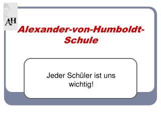 Alexander-von-Humboldt-Schule