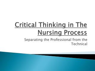 technology in the nursing profession essay