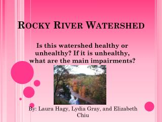 Rocky River Watershed
