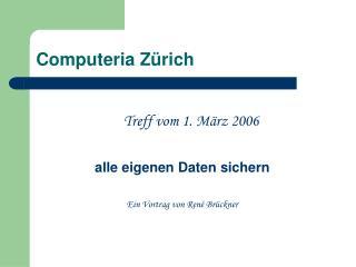 Computeria Zürich