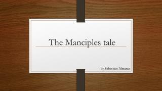 The Manciples tale