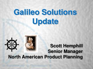 Galileo Solutions Update