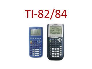 TI-82/84