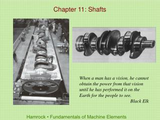 Chapter 11: Shafts