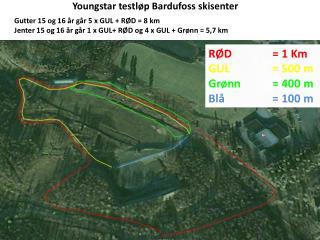 Youngstar testløp Bardufoss skisenter