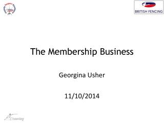 The Membership Business