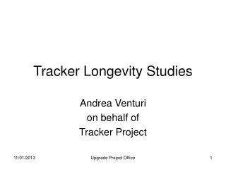 Tracker Longevity Studies
