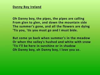 Danny BoyIreland
