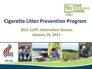 Cigarette Litter Prevention Program