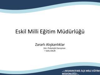 Eskil Milli Eğitim Müdürlüğü