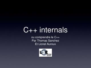 C++ internals