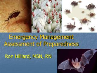 Emergency Management Assessment of Preparedness