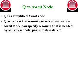 Q vs Await Node