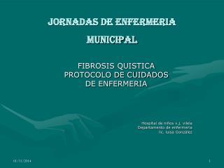 Jornadas de enfermeria  municipal